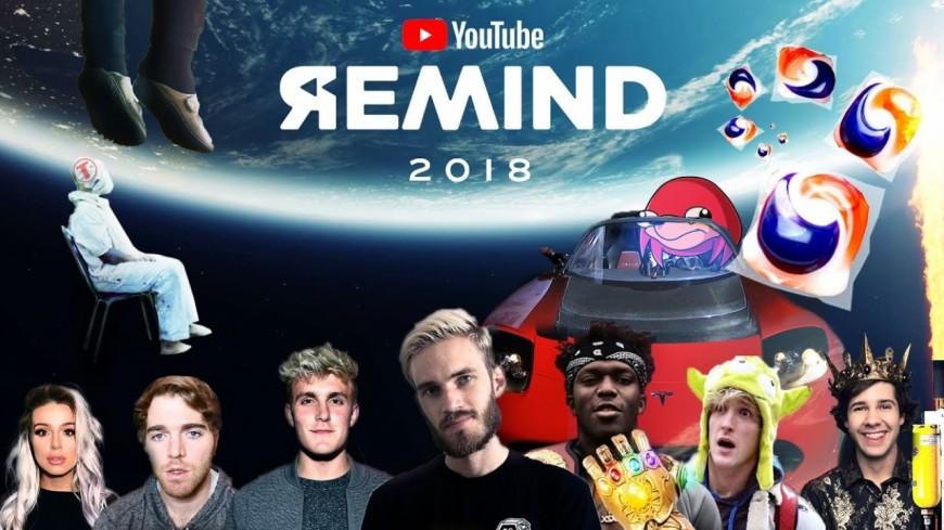 #YouTubeRewind2018 : le classement des vidéos les plus populaire de 2018 !