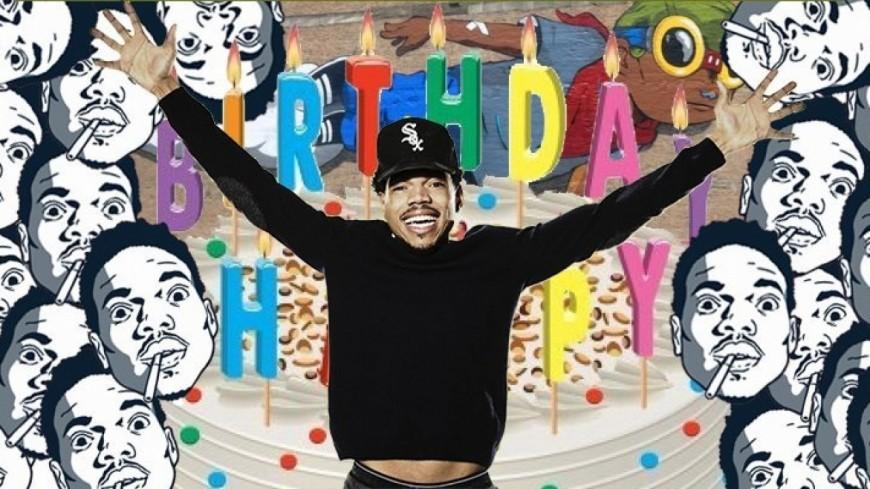 Chance the Rapper offre 100 000 dollars pour son anniversaire !