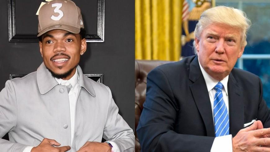 Chance The Rapper soutient Kanye West et Donald Trump !