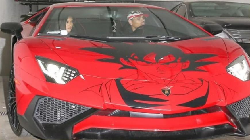 Chris Brown s'offre une Lamborghini DBZ !