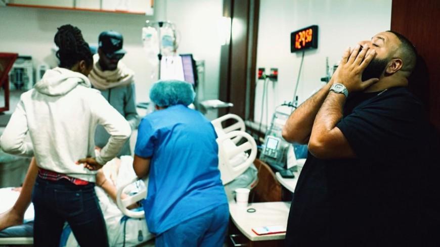 DJ Khaled filme l'accouchement de sa femme !