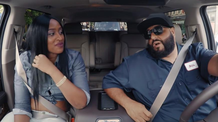 Dj Khaled devient chauffeur de taxi !