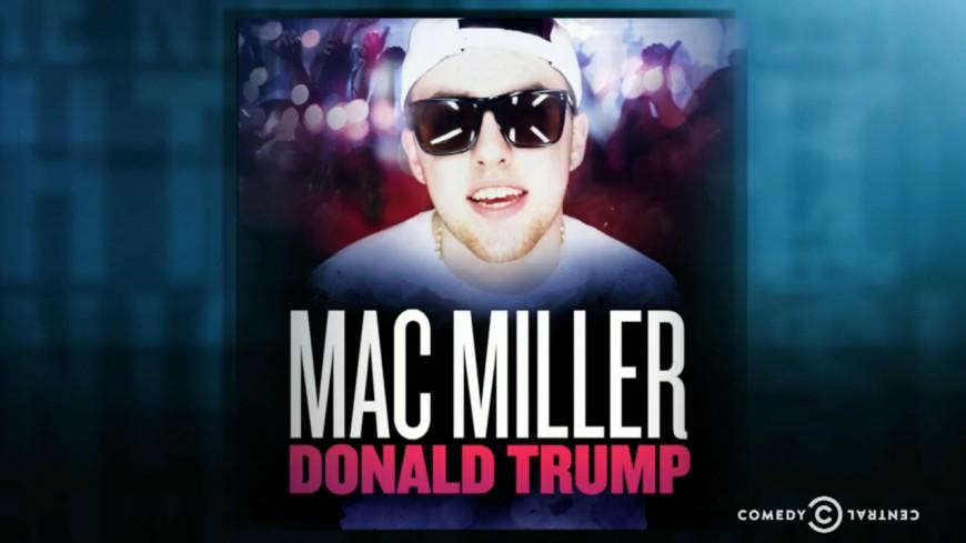 Mac Miller fait un sketch sur Donald Trump !