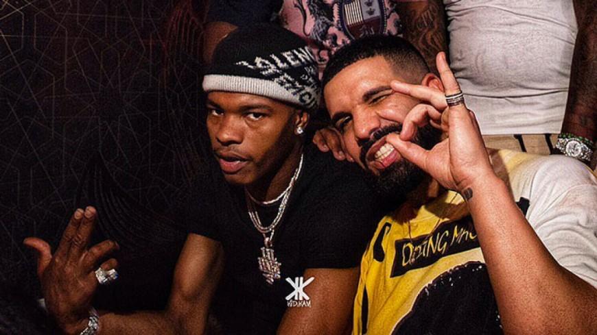 Quand Drake et Lil Baby se retrouvent couverts de platine !