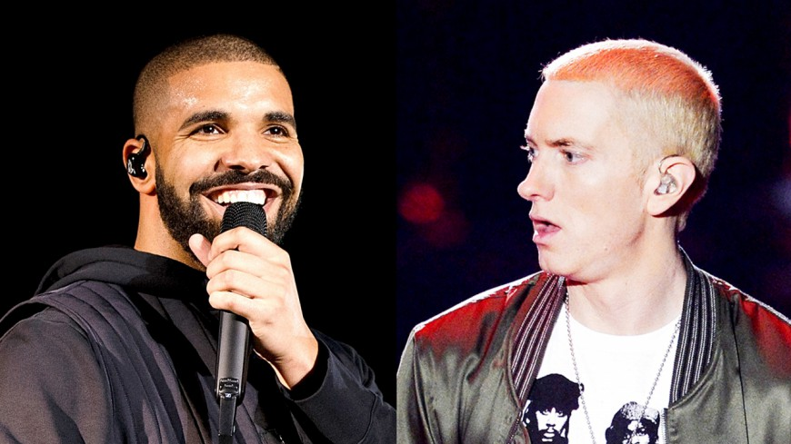 Drake vs Eminem, le faux clash qui agite la toile !