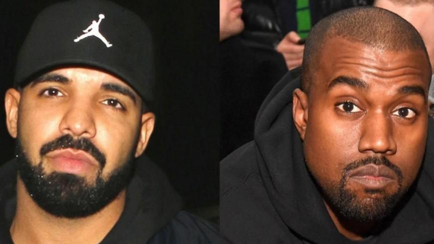 Drake continue de clasher Kanye West dans un nouveau track !
