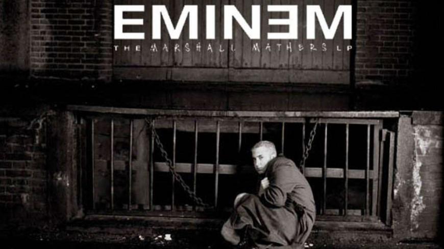 ''The Marshall Mathers LP'' vendu avec une brique de la maison d'Eminem !