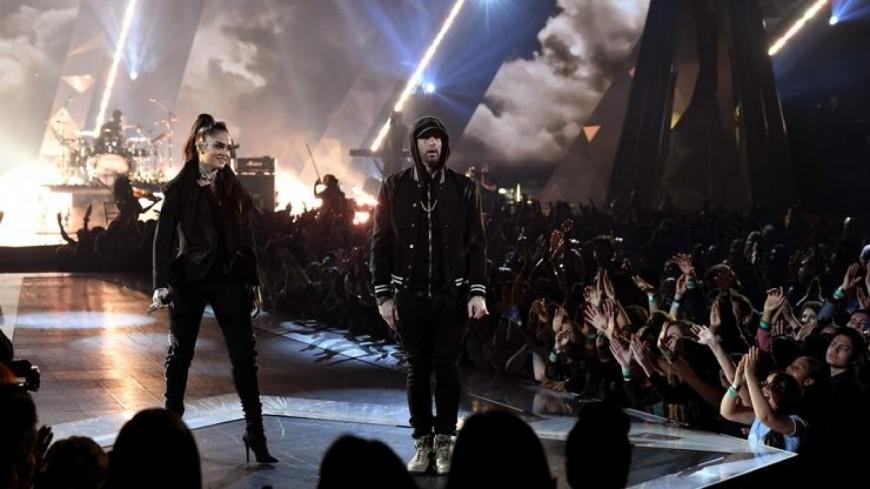 Quand Eminem et Khelani enflamment la scène !