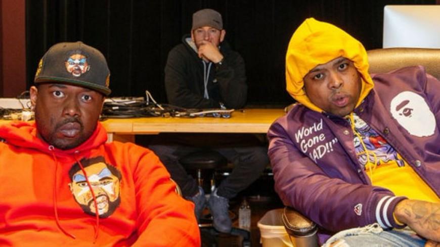 Eminem signe deux rappeurs sur son label !