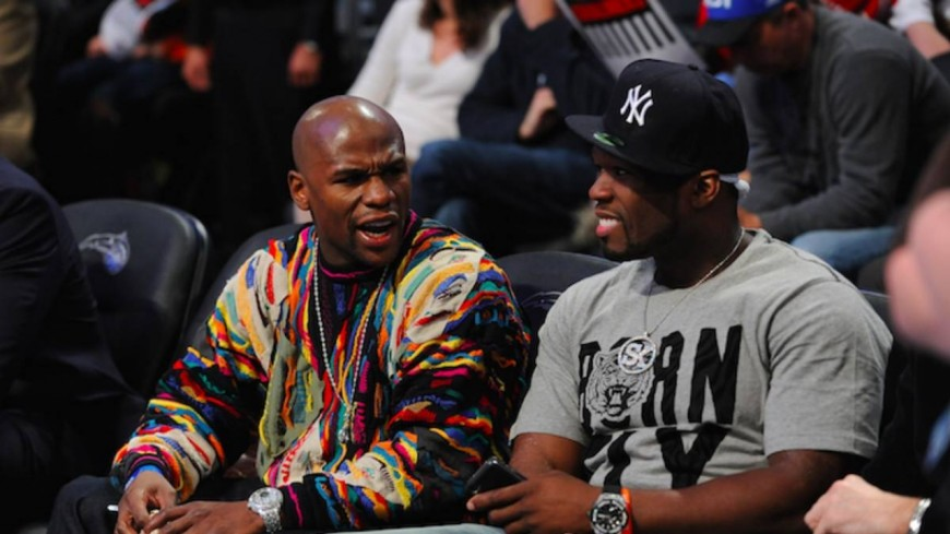 50 Cent publie un document affirmant que Floyd Mayweather bat sa femme !