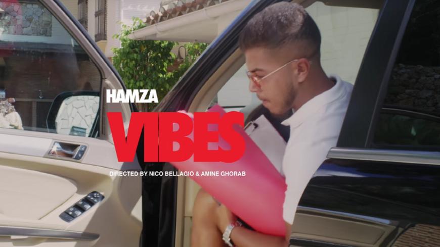 Hamza toujours sur la ''Vibes'' !