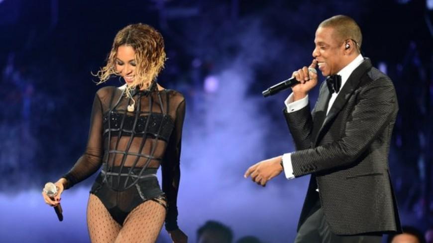 Tout le gratin people réuni au concert de Jay Z et Beyoncéà Los Angeles !