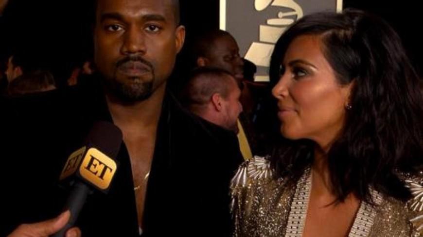 Kanye West a encore frappé pendant les Grammy Awards !