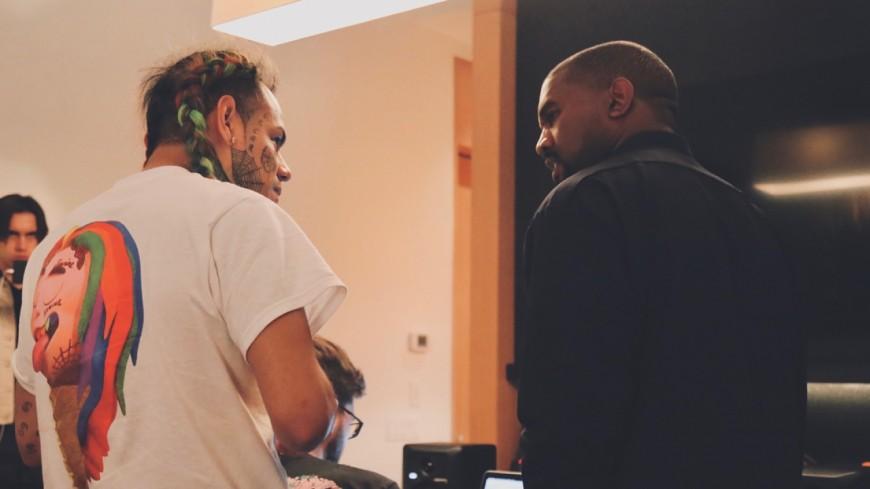 Une collaboration en vue entre Kanye West et 6ix9ine !