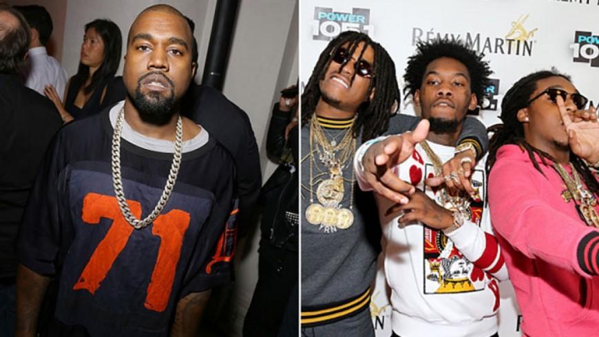 Kanye West et Migos nous préparent quelque chose !