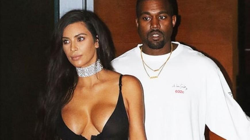 Kanye West et Kim Kardashian sont les plus heureux du monde !