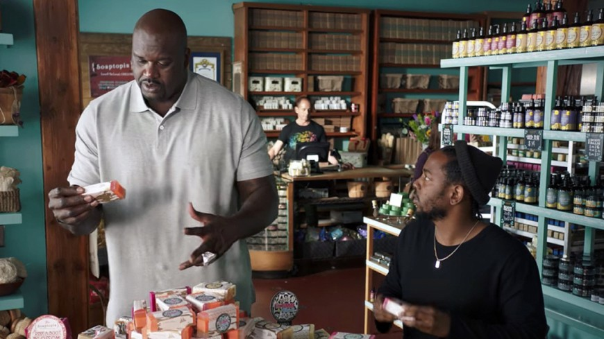 De retour dans le game, Shaquille O'Neal s'affiche avec Kendrick Lamar