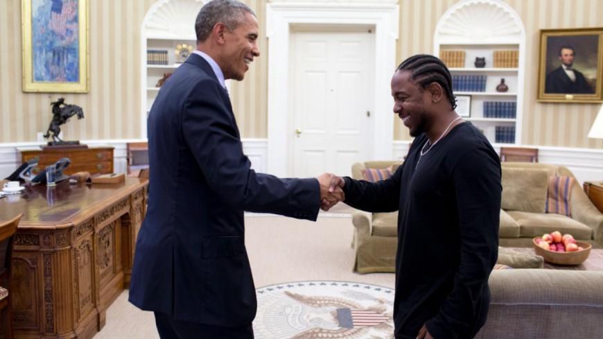 Kendrick Lamar rencontre Barack Obama !