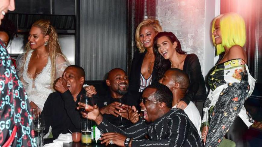 Jay-Z, Beyonce et Kanye West, Kim Kardashian, les retrouvailles ?