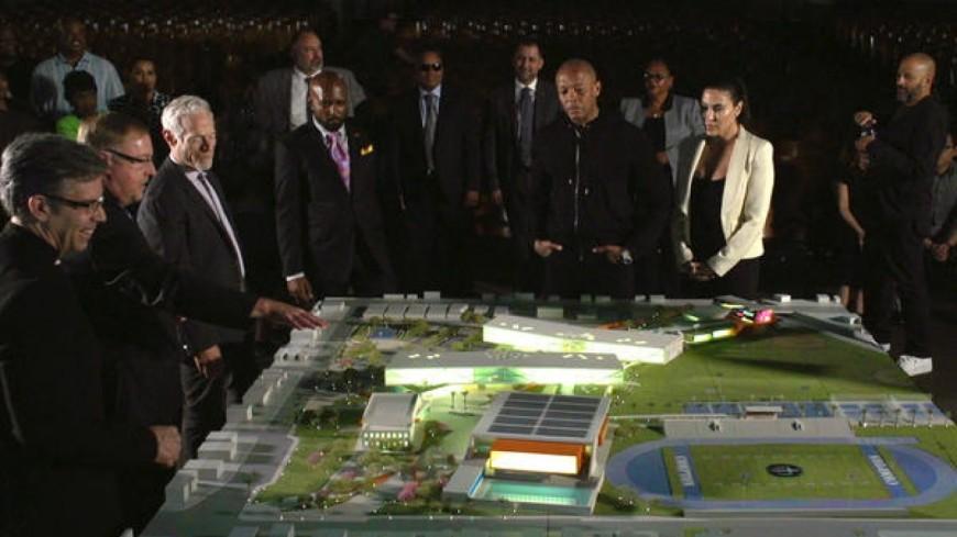 Dr.Dre va dépenser 10 millions pour Compton !