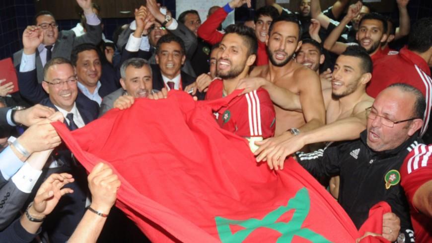 L'équipe du Maroc célèbre leur victoire sur du Booba et Lartiste !