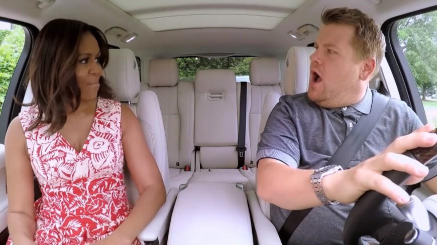 Michelle Obama s'enjaille en voiture avec Missy Elliott !