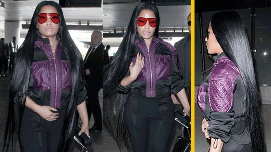 Nicki Minaj se paye des extensions de cheveux à 75 000 $ !