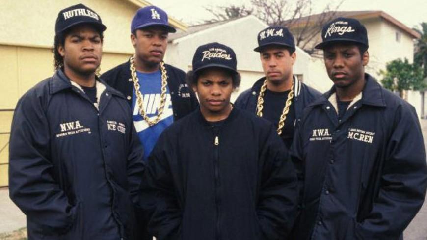 L'album ''Straight Outta Compton '' de N.W.A entre dans la légende !