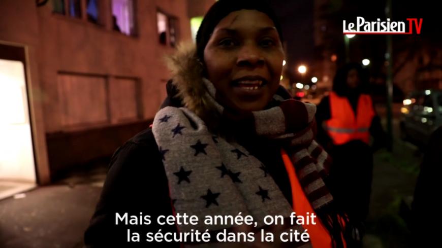 Les mères d'Aulnay-Sous-Bois font la sécurité pour réveillon !