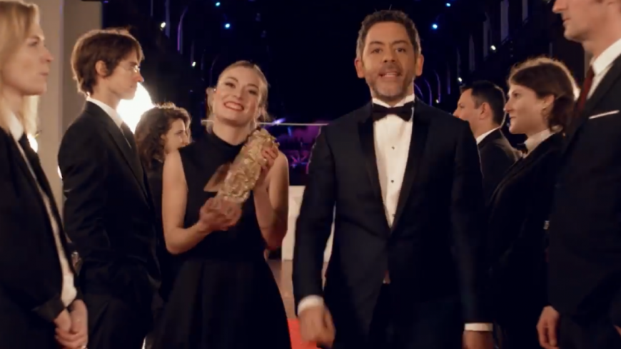 Quand Canal + reprend ''Basique'' pour annoncer les Césars !