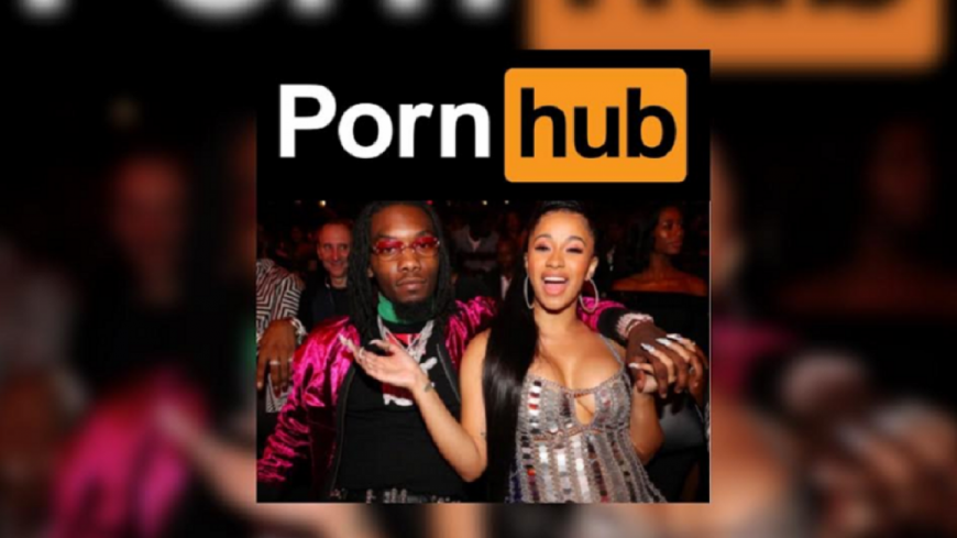 Le succès de Cardi B... sur Porn Hub !