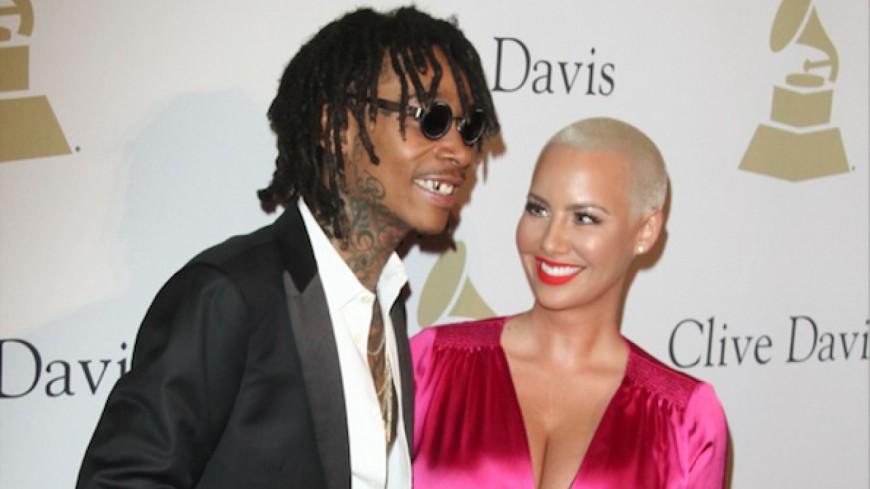 Amber Rose clarifie la situation avec Wiz Khalifa.