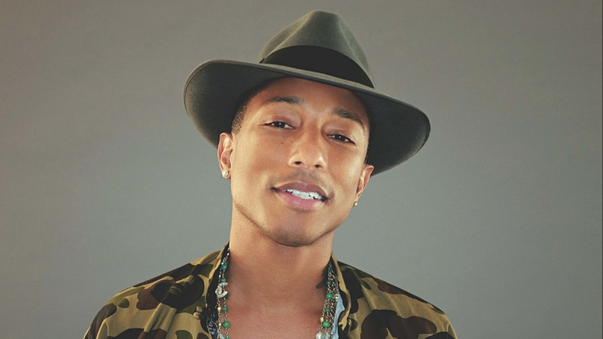 Pharrell Williams apporte sa contribution au réchauffement climatique !