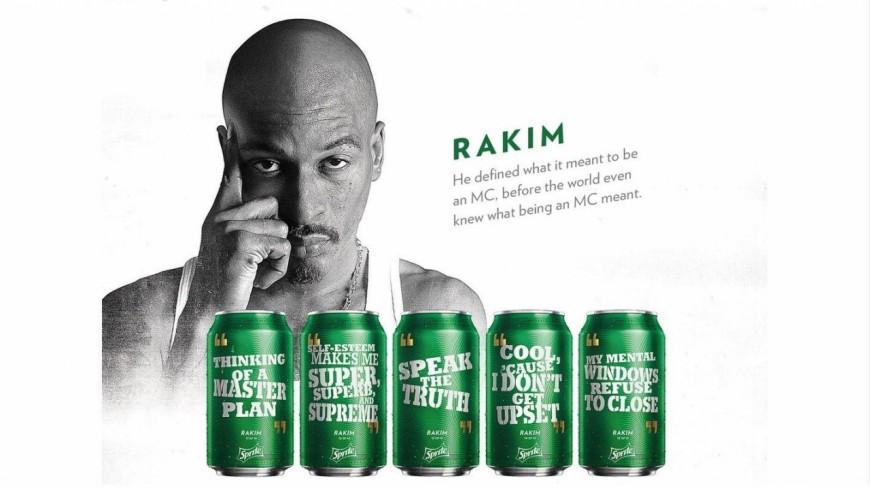 Le légendaire Rakim dans la dernière pub Sprite !