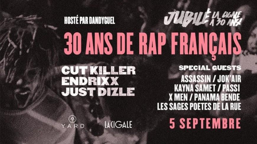 30 ans de rap français à la Cigale, ça se fête !