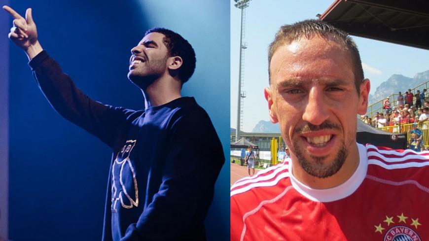 Ribery au concert de Drake avec Griezmann et Nicky Minaj !