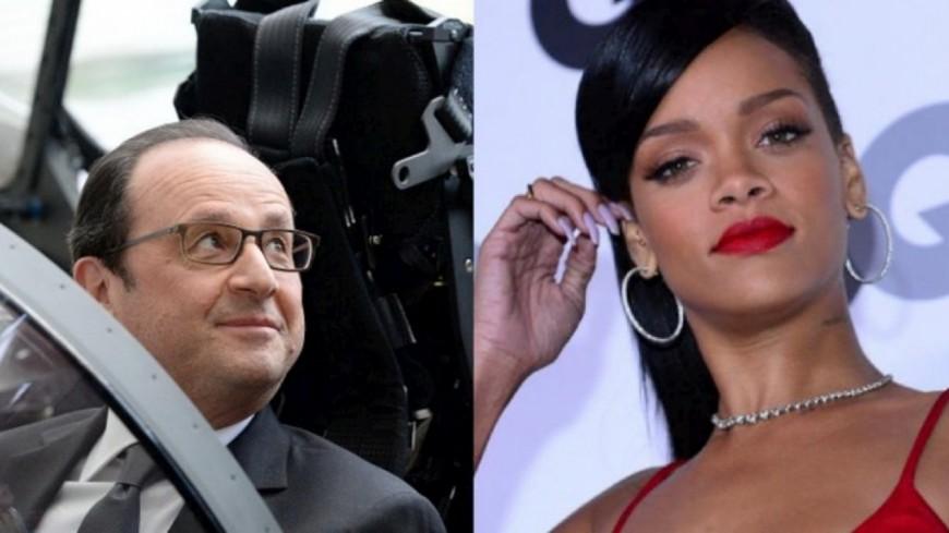 La réponse de François Hollande à Rihanna