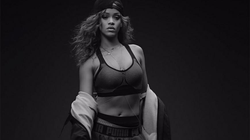 Rihanna présente sa nouvelle paire de sneakers Puma !