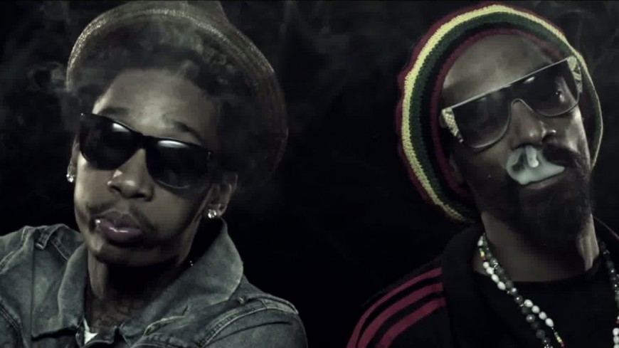 Snoop Dogg et Wiz Khalifa font un battle de... weed !