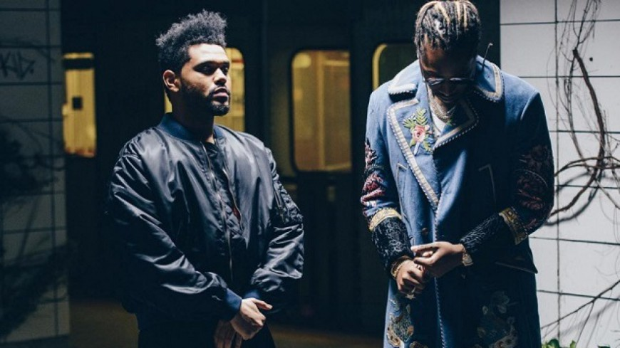 The Weeknd et Future squattent le métro canadien !