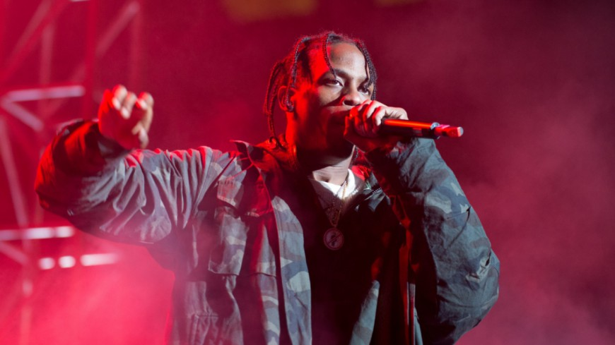 Travis Scott à l'hôpital !