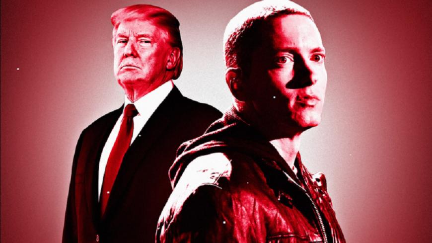 Le fils de Donald Trump répond à Eminem !