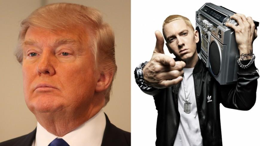 Un pro Trump a rappé du Eminem en direct !