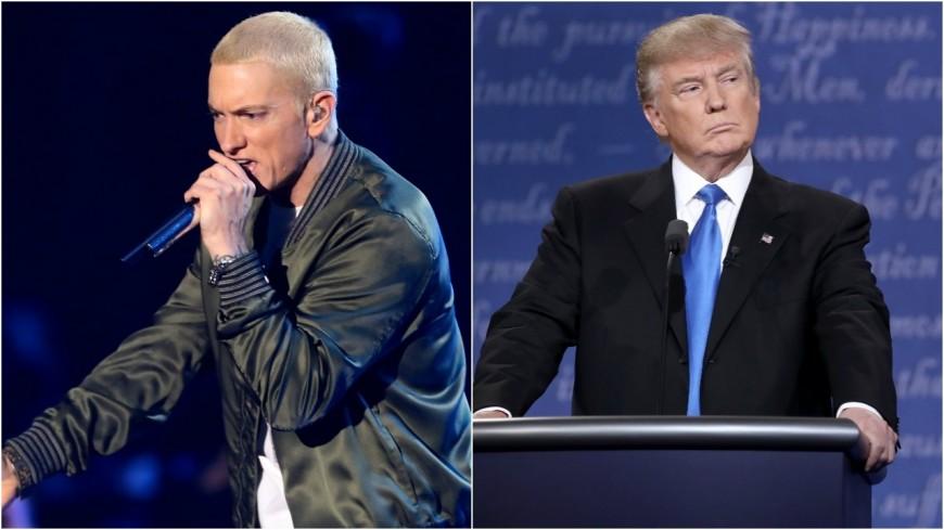 La révélation d'Eminem sur l'élection de Donald Trump !