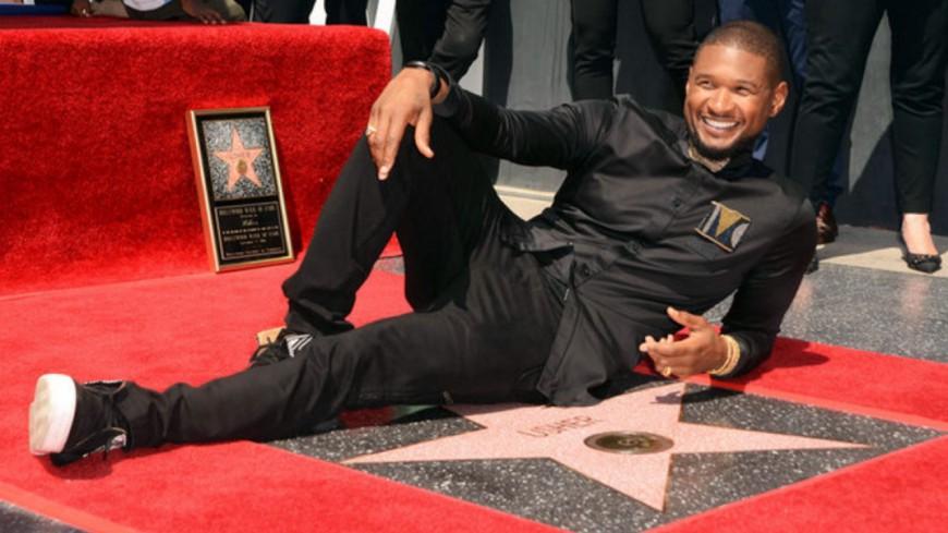 Usher a son étoile sur le Hollywood Walk of Fame !