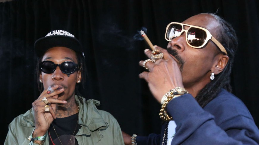 Snoop Dogg et Wiz Khalifa : encore de la weed sur scène !