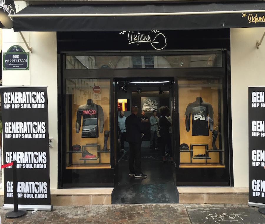 Opium paris ouverture officielle du shop agenda - Les halles paris ouverture ...