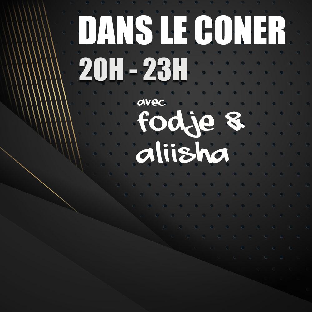 Le Corner avec Aliisha et Fodjé
