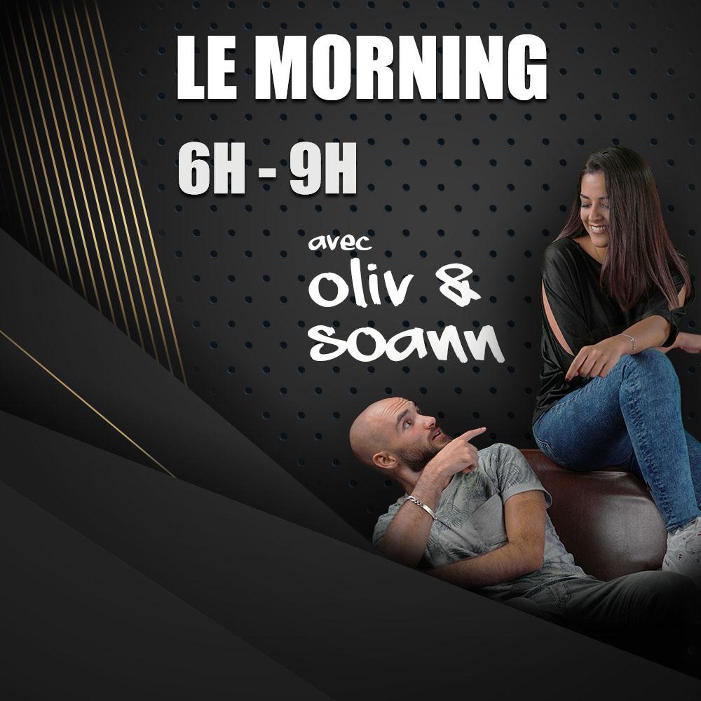 Le Morning de Lyon avec Oliv et Soann