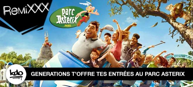 PARC ASTERIX : Chope tes entrées !!